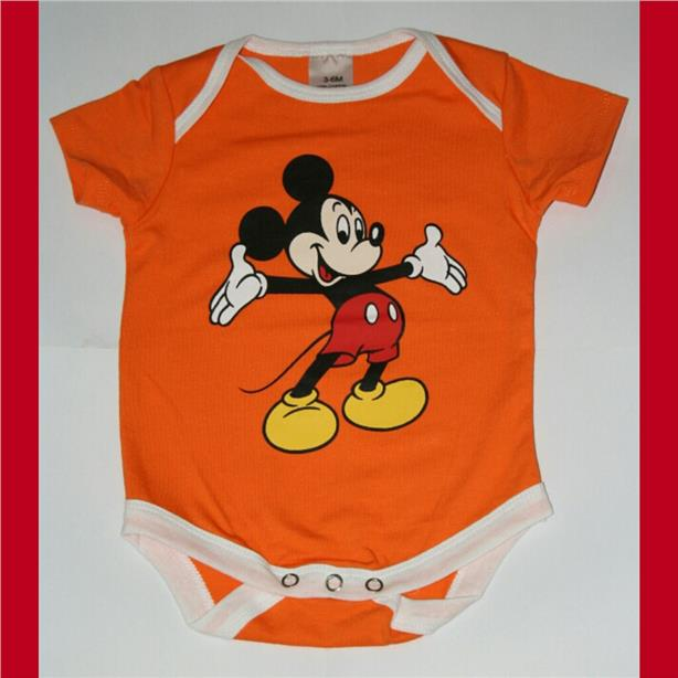 Cartoon Baby Rompers - Mickey