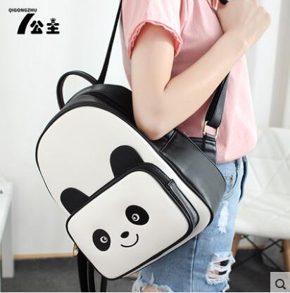 Cartoon cute backpack panda shoulder bag