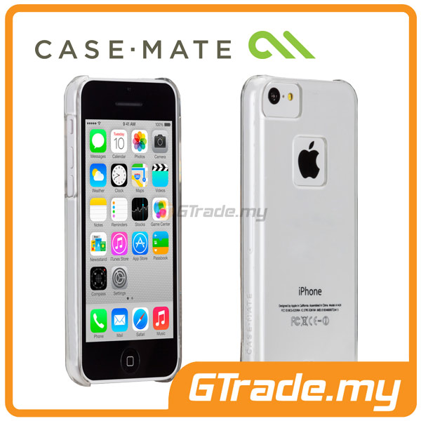 CASE-MATE Barely There Case | Apple iPhone 5C Clear