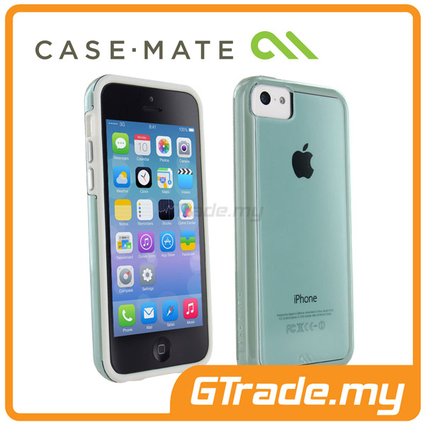 CASE-MATE Naked Tough Case |Apple iPhone 5C White Aqua