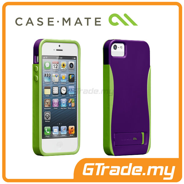 CASE-MATE Pop with Stand Case | Apple iPhone 5S 5 - Purple
