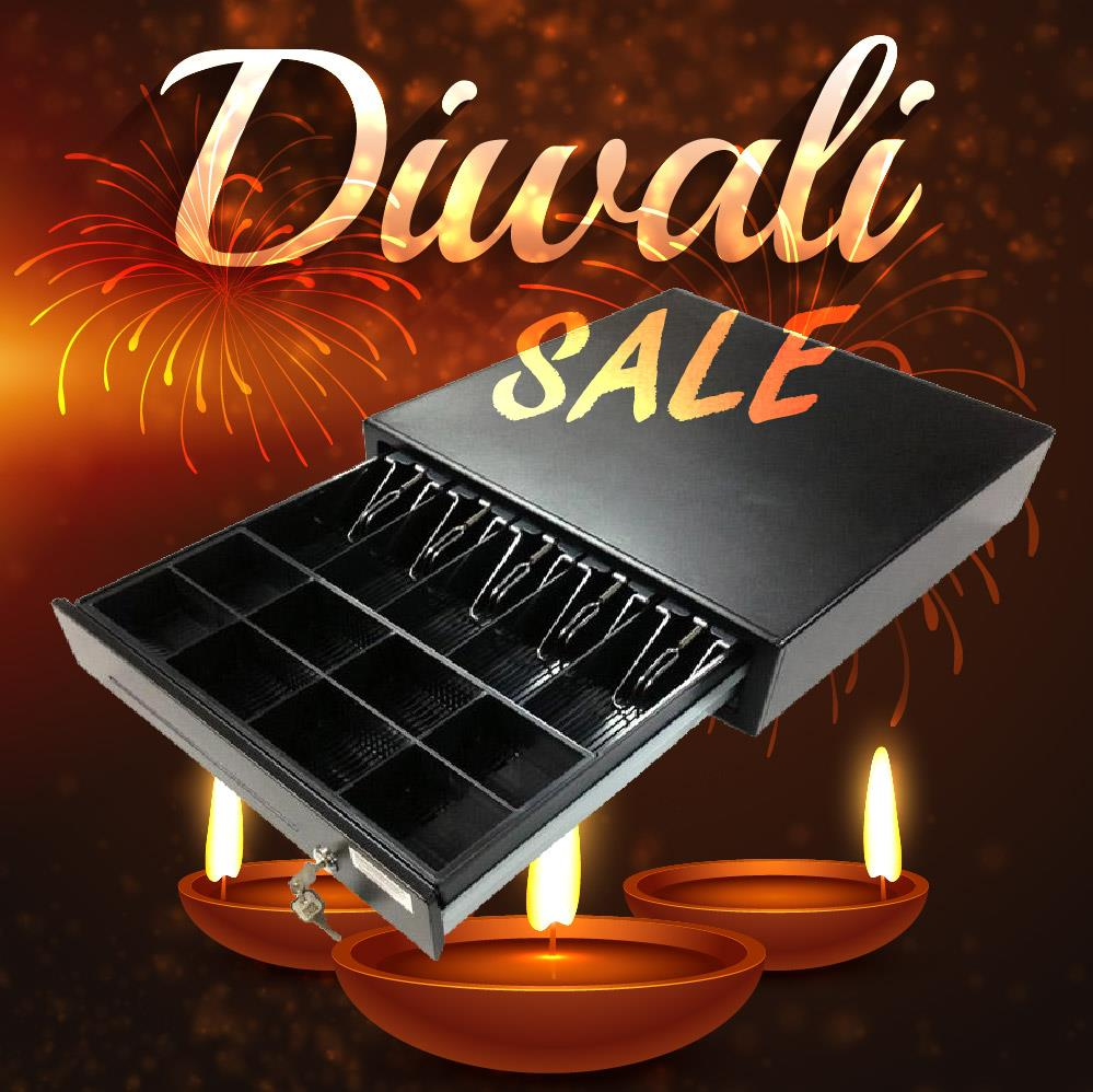 Cash Drawer with POS Function: DEEPAVALI SALE