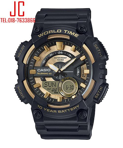 CASIO ANADIGIT AEQ-110BW-9AV TELEMEMO WATCH☑ORIGINAL☑