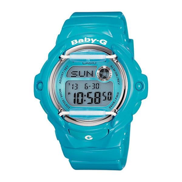 Casio Baby-G BG-169R-2B EL Afterglow Resin Band Watch With Warranty