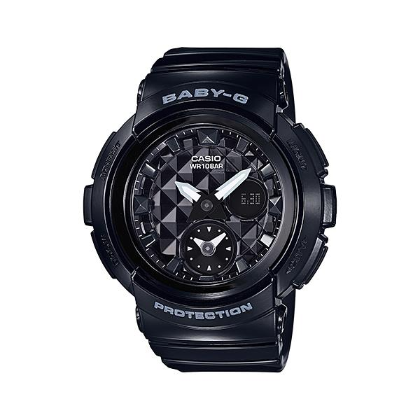 Casio Baby- G BGA-195-1A LED World Time Resin Watch With Warranty