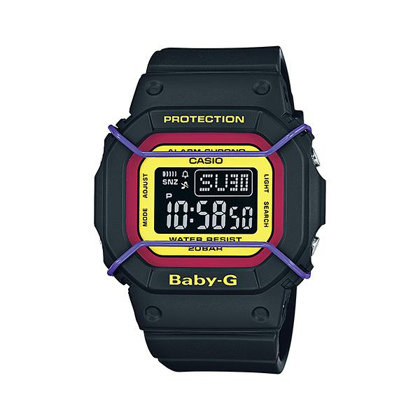 Casio Baby-G BGD-501-1B EL Afterglow Resin Band Watch With Warranty