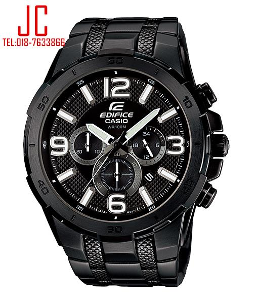 CASIO EDIFICE CHRONOGRAPH EFR-538BK-1AV ☑ORIGINAL☑