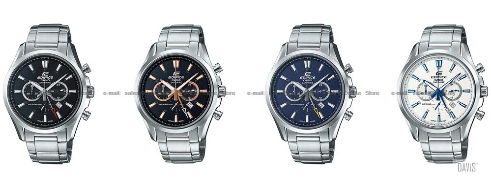CASIO EFB-504JD EDIFICE chronograph sapphire Made in Japan SS bracelet