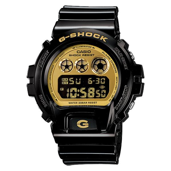 Casio G-Shock DW-6900CB-1 Flash Alert EL Resin Watch With Warranty