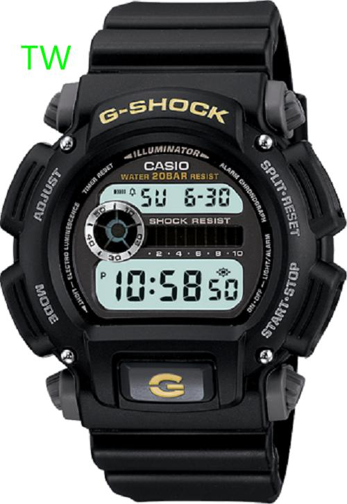 CASIO G-SHOCK DW-9052-1B OIGINAL