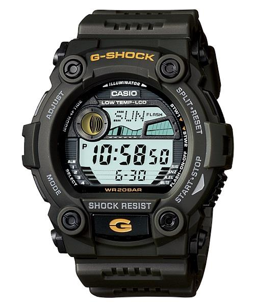 CASIO G-SHOCK G-7900-3D MAT MOTOR GREEN