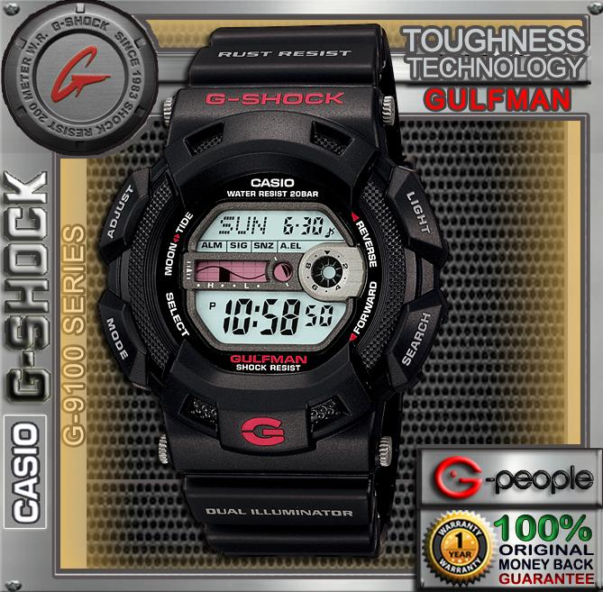 CASIO G-SHOCK G-9100-1DR WATCH ☑ORIGINAL☑