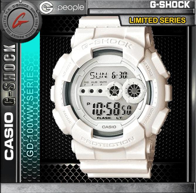 CASIO G-SHOCK GD-100WW-7DR WATCH☑ORIGINAL☑