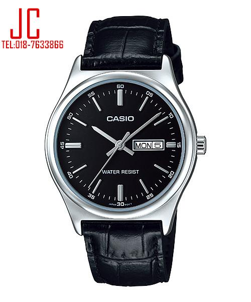 CASIO LEATHER WATCH MTP-V003L-1A