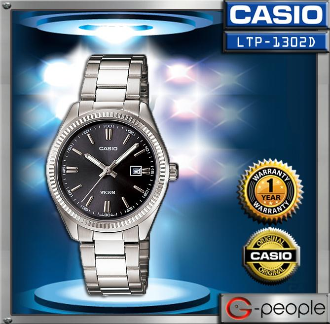 CASIO LTP-1302D-1A1V LADIES WATCH ☑ORIGINAL☑