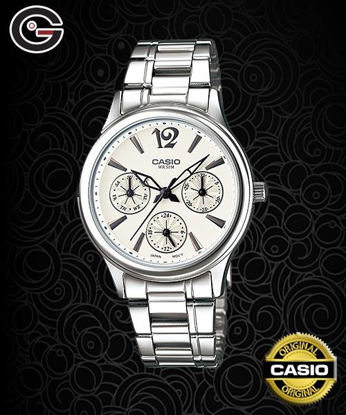 CASIO LTP-2085D-7A MULTI-HAND WATCH ☑ORIGINAL☑