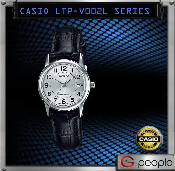 CASIO LTP-V002L-7B LADY WITH DATE WATCH ☑ORIGINAL☑