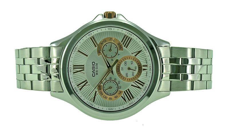 Casio Men Multi Function Watch MTP-E308D-7AVDF