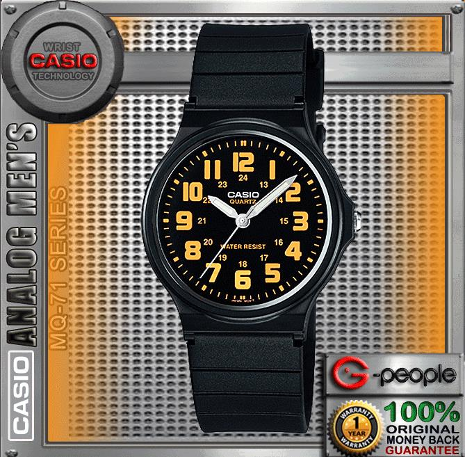 CASIO MQ-71-4B STANDARD WATCH☑ORIGINAL☑FREE SHIPPING