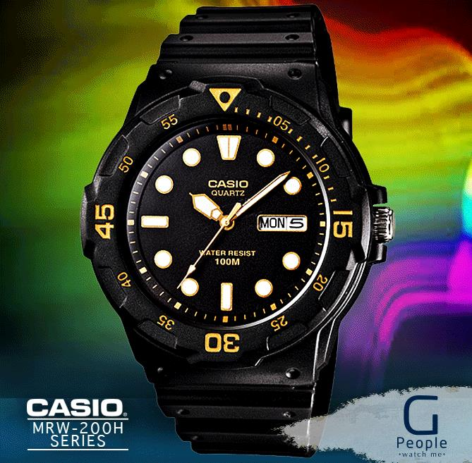 CASIO MRW-200H-1EV WATCH ☑ORIGINAL☑