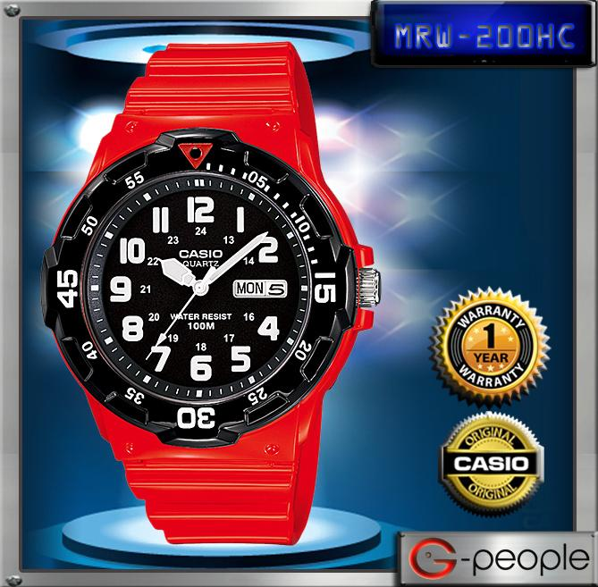 CASIO MRW-200HC-4BV 100M WATCH☑ORIGINAL☑