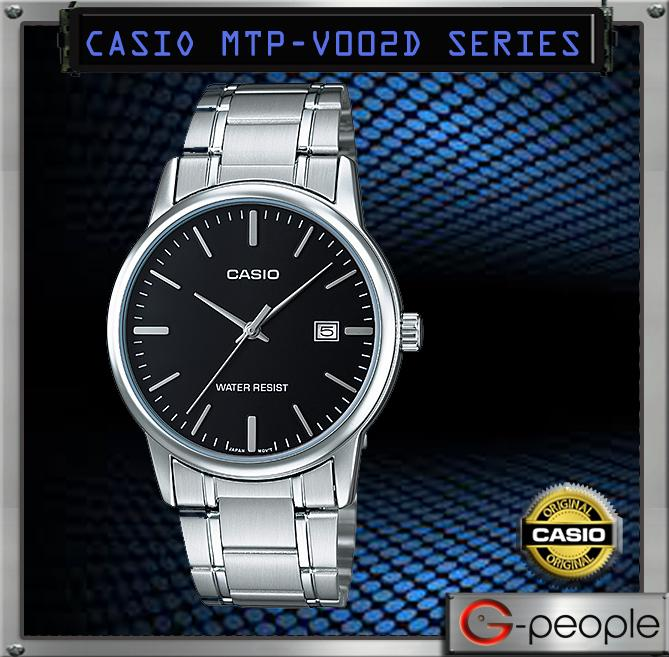 CASIO MTP-V002D-1A GENTS WITH DATE WATCH ☑ORIGINAL☑