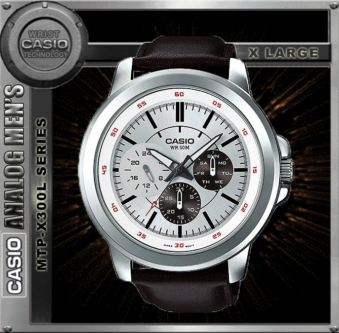 CASIO MTP-X300L-7E SPORTY BIG CASE WATCH ☑ORIGINAL☑