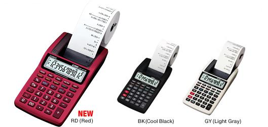 CASIO Printing Calculator, HR-8TM [Mini Printer]
