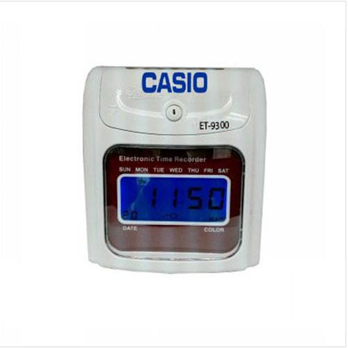 CASIO PUNCH CARD TIME ATTENDANCE  MACHINE + 10 YEARS WARRANTY