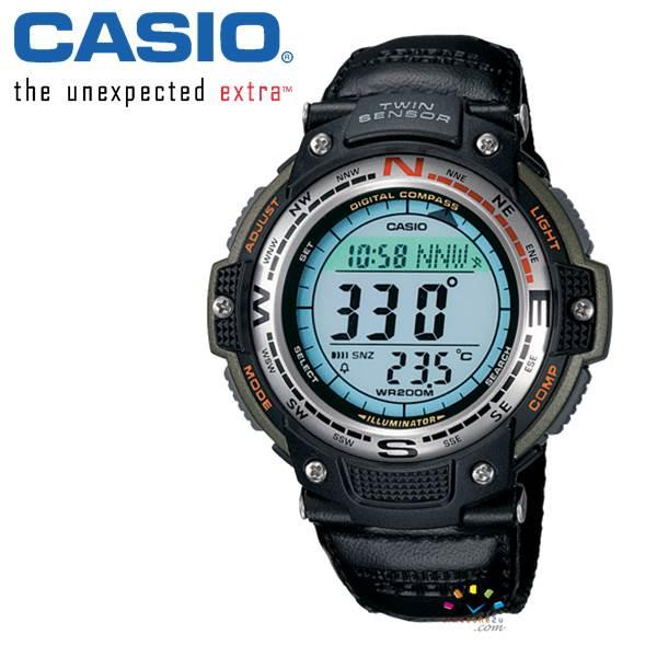 CASIO Sports SGW100B-3V Watch (Twin Sensor - Compass/Temperature)