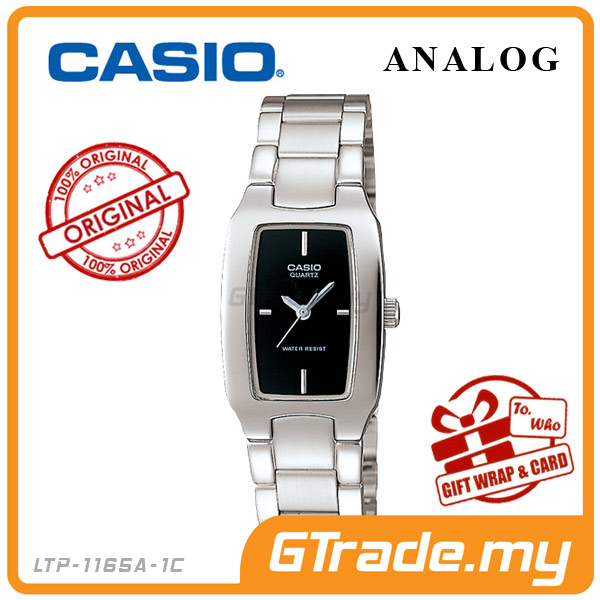 CASIO STANDARD LTP-1165A-1C Analog Ladies Watch | Fashion WR