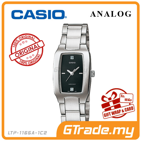 CASIO STANDARD LTP-1165A-1C2 Analog Ladies Watch | Fashion WR