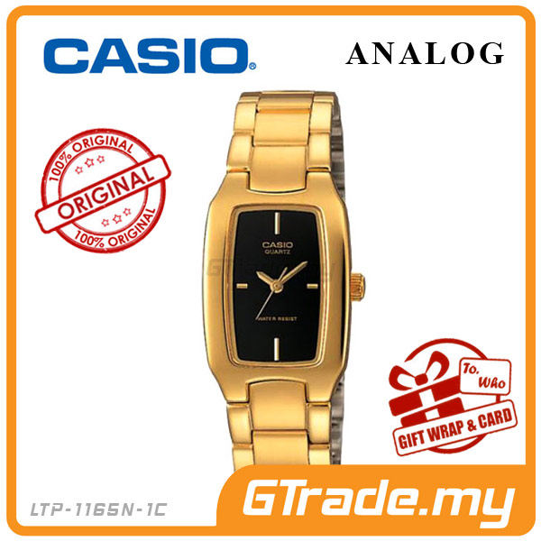 CASIO STANDARD LTP-1165N-1C Analog Ladies Watch | Gold Fashion WR