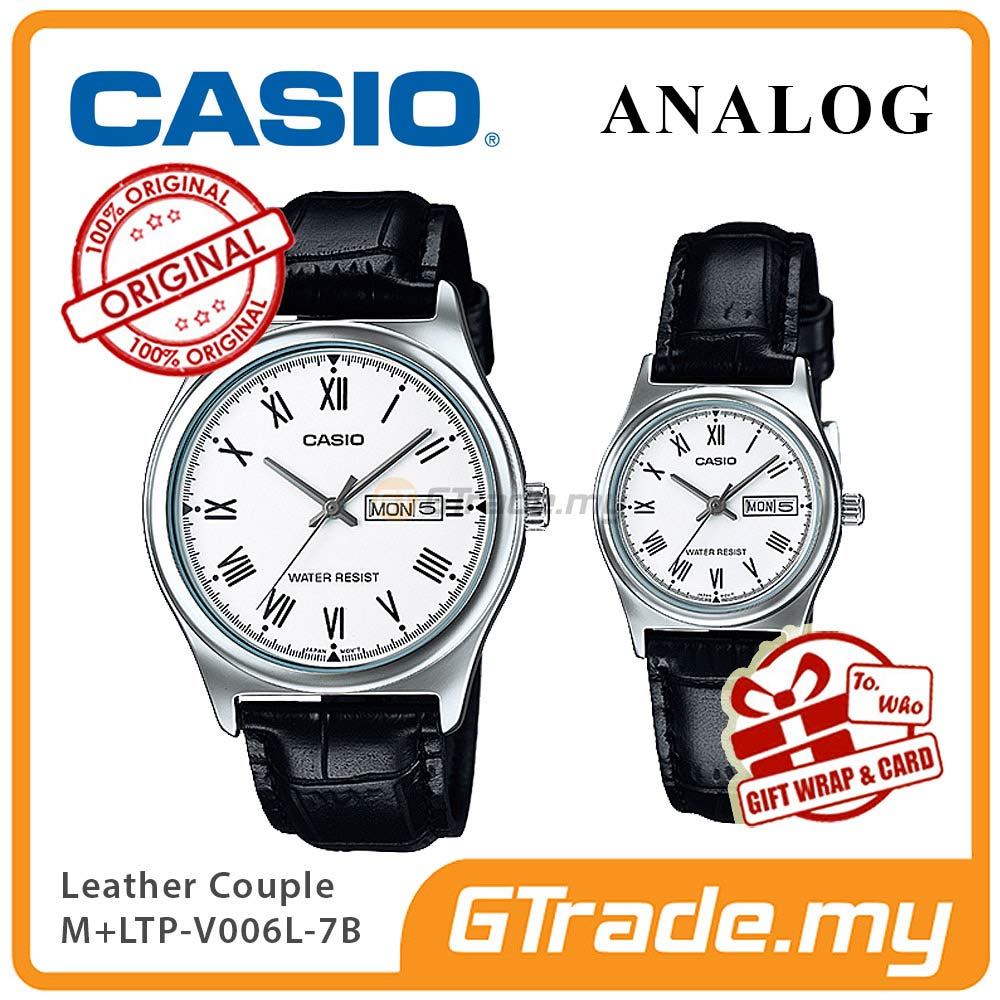 CASIO STANDARD MTP-V006L-7BV & LTP-V006L-7BV Analog Couple Watch
