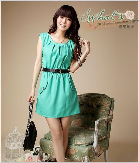 Casual Dress - Green - SY5179 (end 7/1/2018 12:00 AM - MYT )