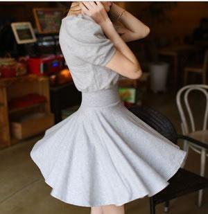 Casual Dress - Grey - SY8645