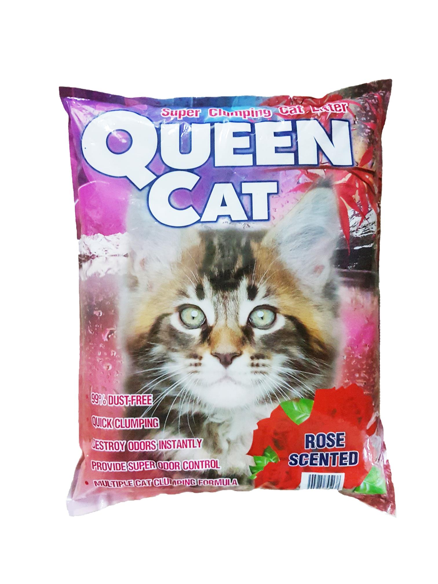 Cat Litter QUEENCAT (12L) ROSE SCENTED