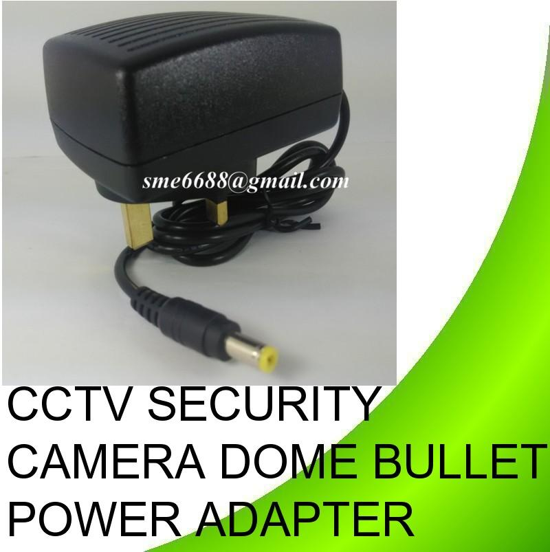 CCTV Security Camera Dome Bullet Power Adapter DC 12v 1.25A