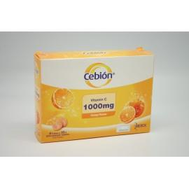Cebion Effervescent Vitamin C 1000mg (Orange)(8 Tubes x 10's)