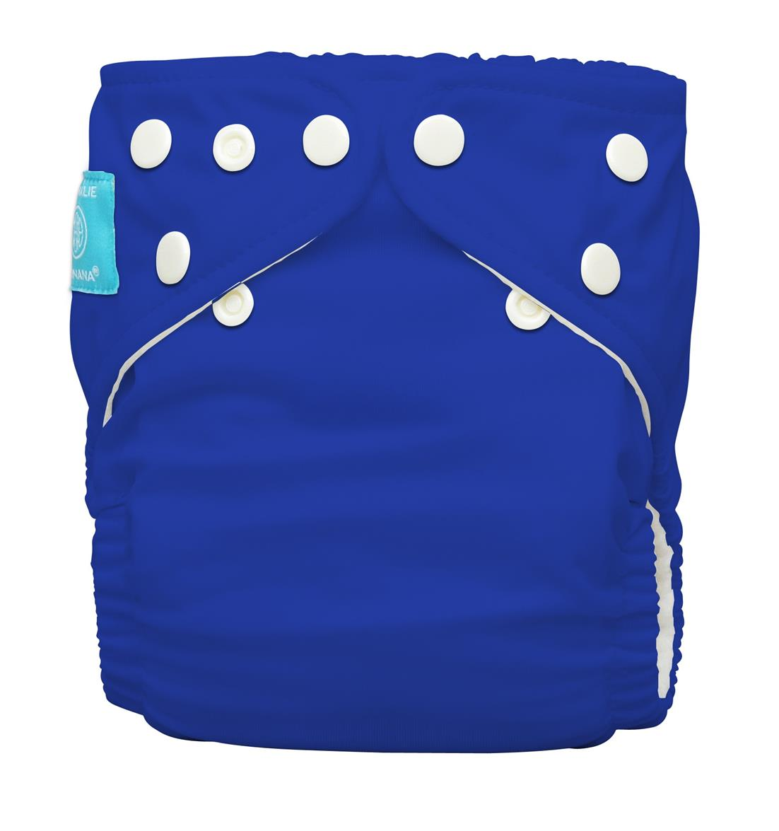Charlie Banana One Size Diaper With 2 Inserts - Royal Blue