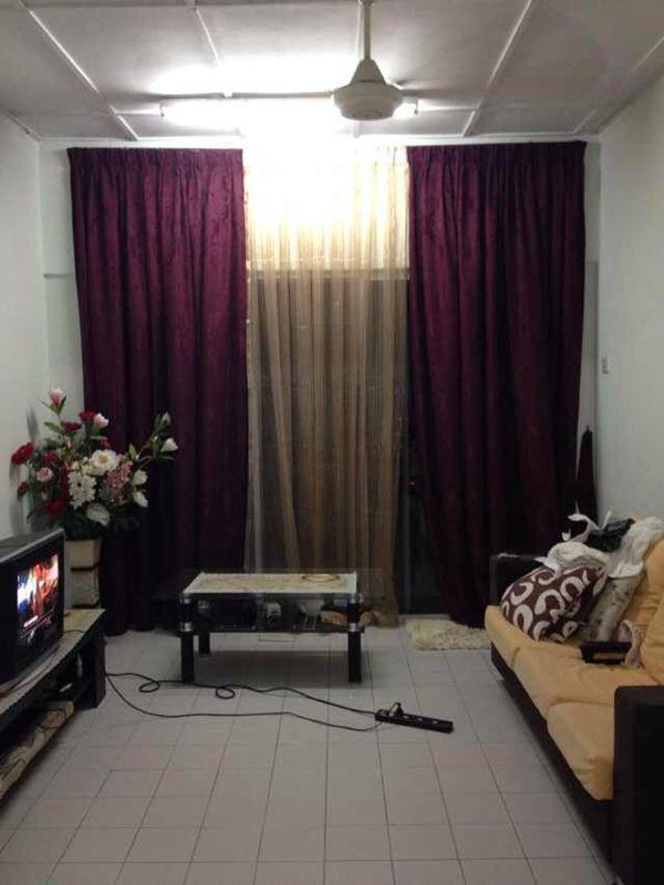 Cheras Perdana Apartment Block D,E for sale, Fully Furnished, Cheras
