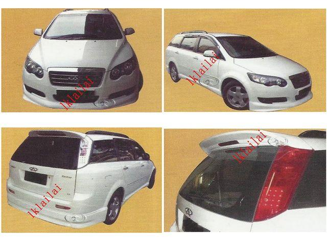 Chery Eastar Full Set Body Kit Wald Style [Skirt+Spoiler][Fiber]Painte