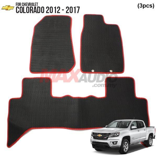 CHEVROLET COLORADO 2012 - 2017 EMANON-J (EVA) Custom Made Floor Carpet