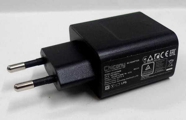 Chicony USB 5V 2A Wall Charger Charge EU Plug