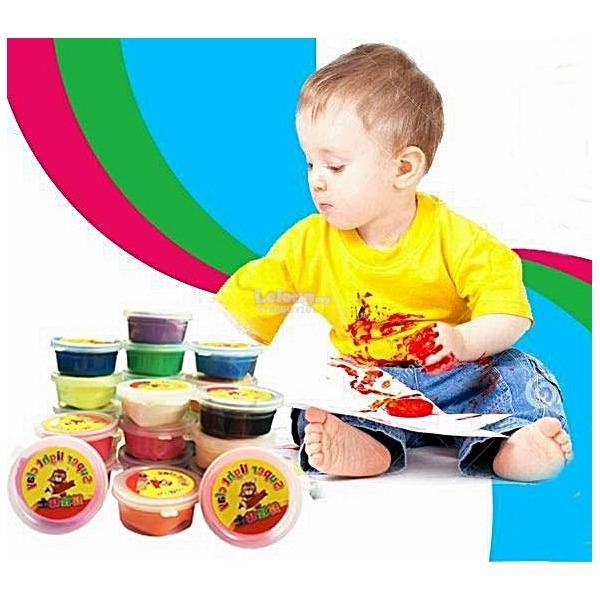 Children DIY Art Magic Clay
