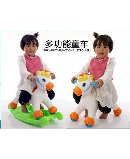 Children Rocking Horse and Gliding Function,Light. Fun & Quality