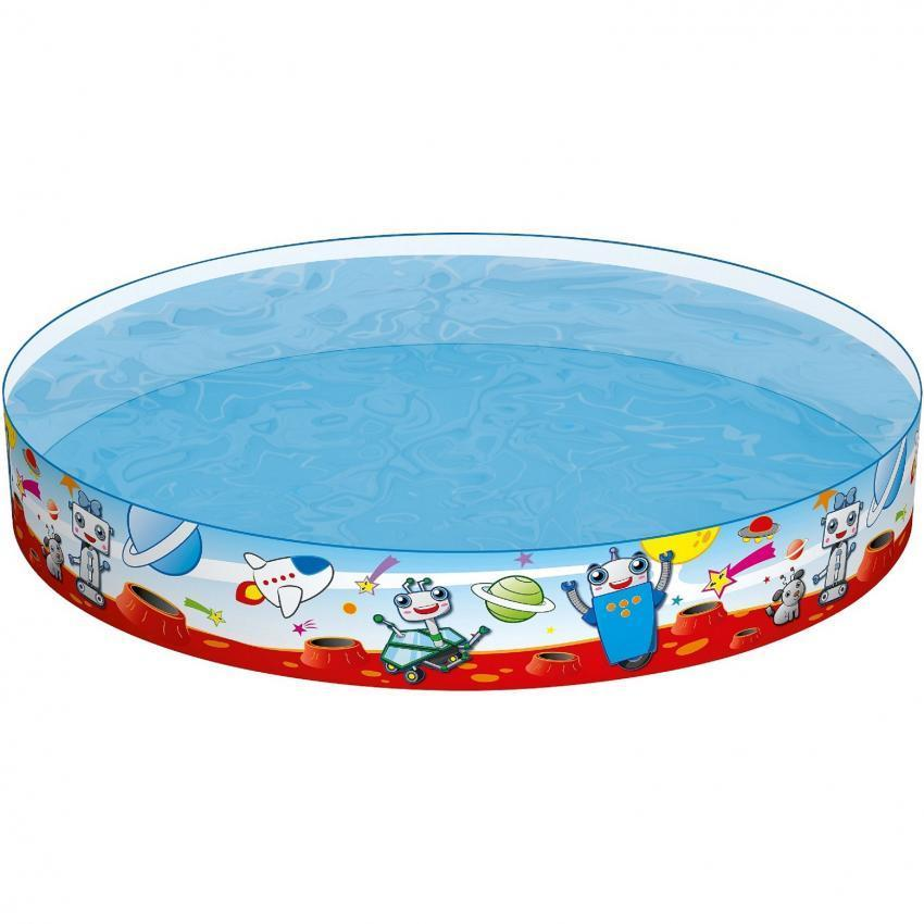 Children Swimming Fun Pool with 1.52m x H25cm (Ship with PosLaju)