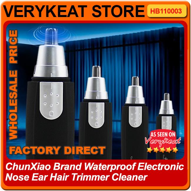 ChunXiao Brand Waterproof Electronic Nose Ear Hair Trimmer Cleaner
