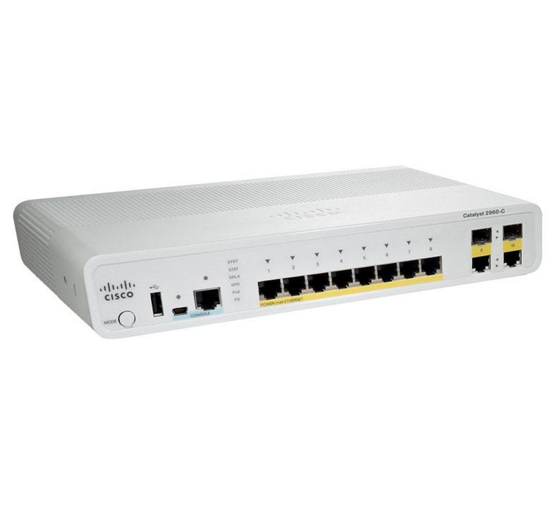 Cisco Catalyst 2960C Switch (WS-C2960C-12PC-L)