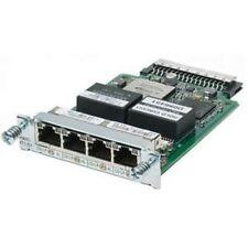 Cisco EHWIC-4ESG 4port 10/100/1000  RJ45 2900 3900 SERIES